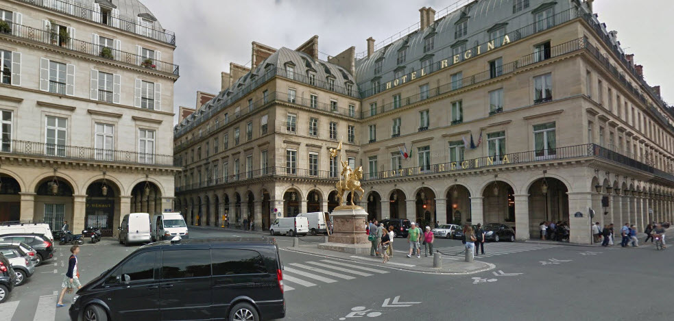 ParisCityVisionTours_2Pyramidies_AtHotelRegina