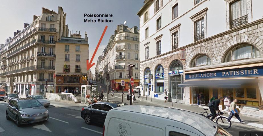PoissonniereMetroStation